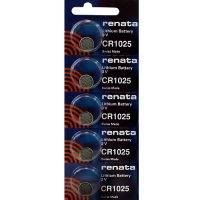 CR1025 watch batteries at Retroleds.com for vintage & modern digital watches, both LED & LCD.