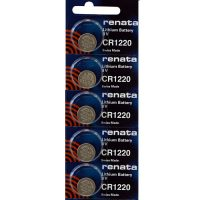 CR1220 watch batteries at Retroleds.com for vintage & modern digital watches, both LED & LCD.