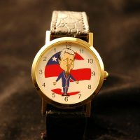 Bass-ackwards!! Bill Clinton watch,