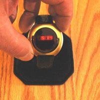 vintage LED watch NOS SEARS – EARLY HUGHES INSIDE!!,
