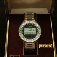 CITIZEN S.S. LCD CALCULATOR WATCH,