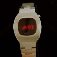 vintage LED watch EXCELLENT BIRKS LADIES DOW,