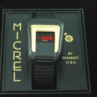 vintage LED watch NOS MICREL