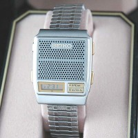 NOS SEIKO LCD TALKING WATCH,