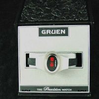 vintage LED watch NOS SS GRUEN LED – gender neutral?,