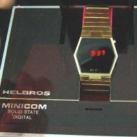 vintage LED watch EXCELLENT HELBROS,
