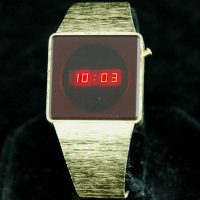 vintage LED watch NOS LED WATCH – DOW