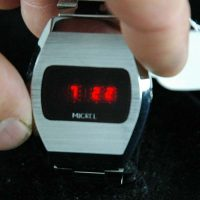 vintage LED watch EXCELLENT MICREL LED,