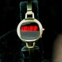 vintage LED watch MINTY HUDSON HARRIS BANGLE LED,