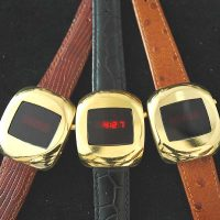 "vintage LED watch MINTY NOVUS ""EXELAR"" DOW,"