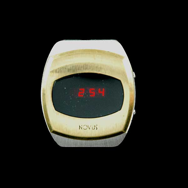vintage LED watch EXCELLENT NOVUS LED,