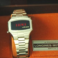 vintage LED watch MINT WITTNAUER CLASSIC DOW,